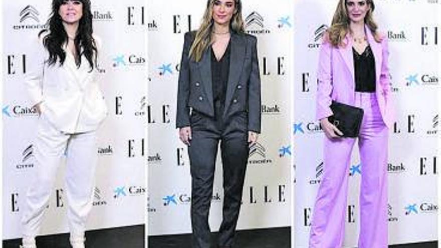 Derroche de 'glamour' en los premios Elle Women