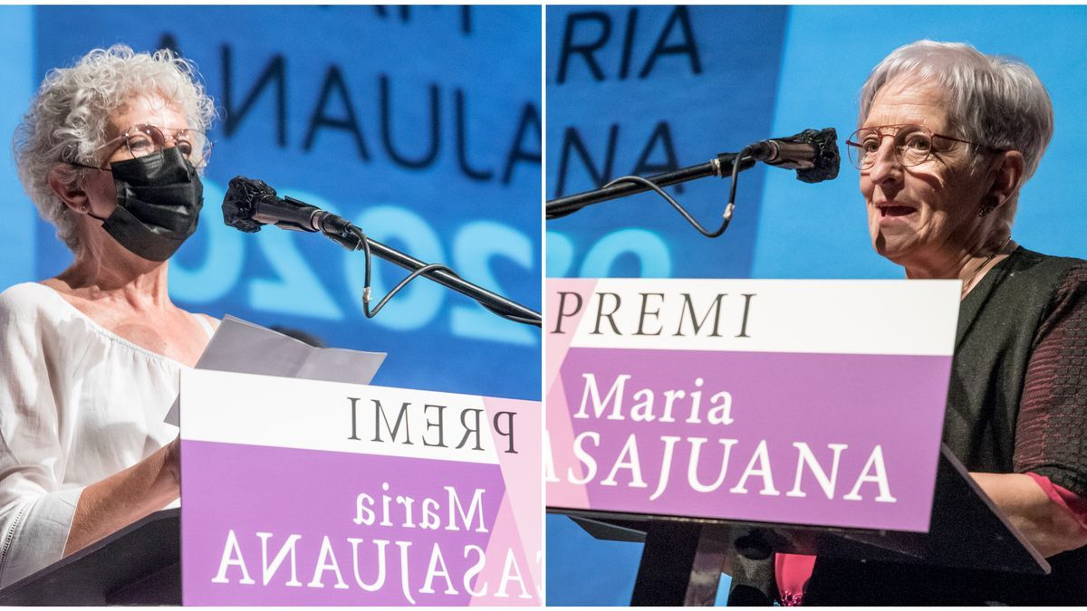 Guardons del Premi Maria Casajuana