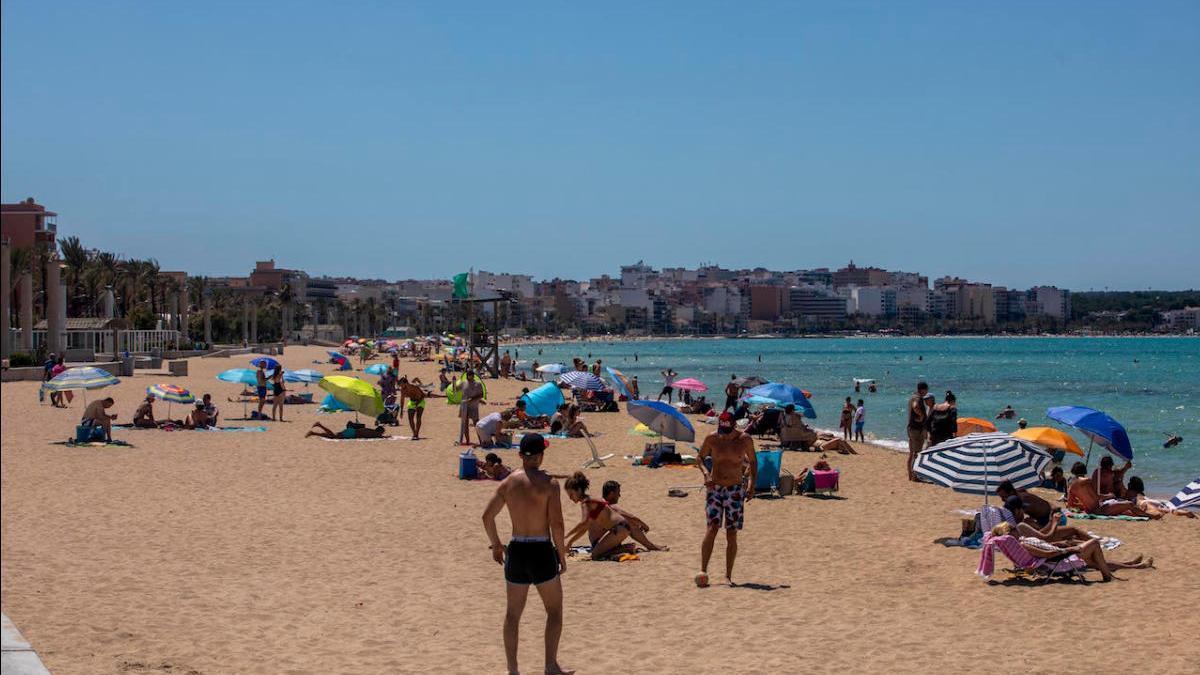 Ultimátum a Mar de Mallorca para que instale las hamacas y sombrillas en Platja de Palma