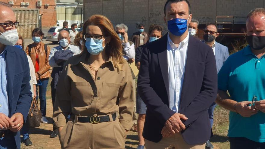 El PP protesta por la paralización de la variante de Pedralba