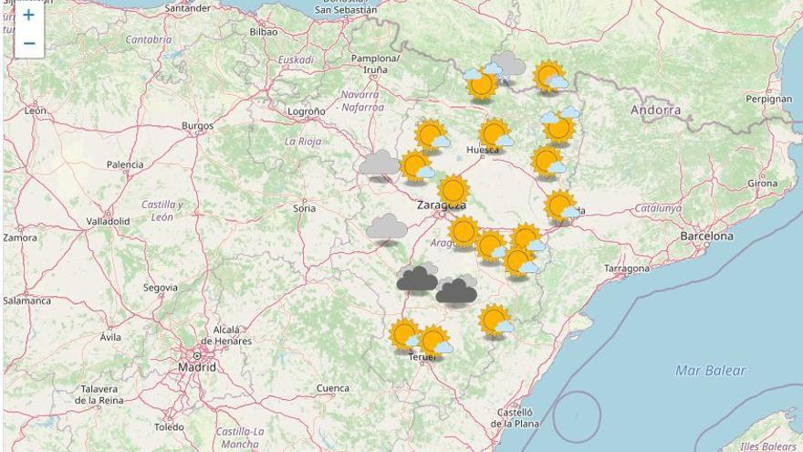 El viento del noroeste vuelve a ser protagonista en el valle del Ebro