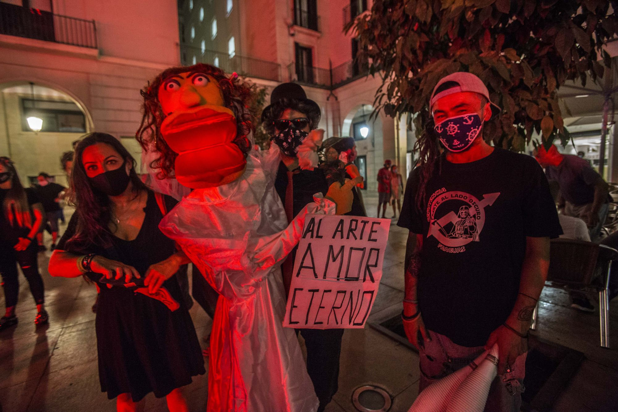 Manifestación de Alerta Roja