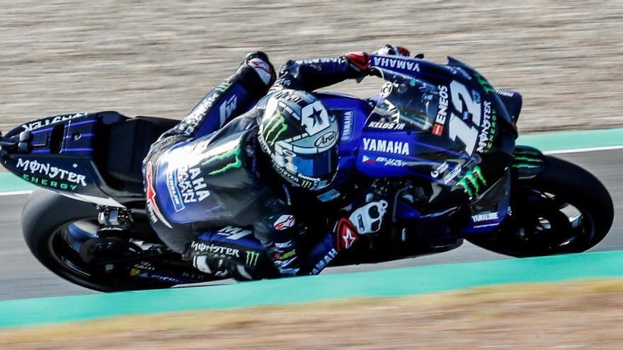 Maverick Viñales sentencia la jornada de MotoGP con su registro matinal