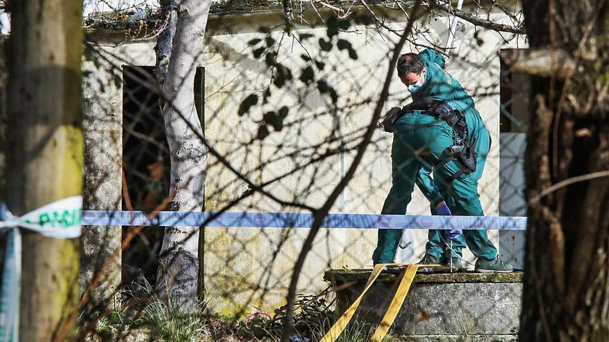 El cadáver hallado en el pozo de Porriño presentaba un fuerte golpe en la cabeza