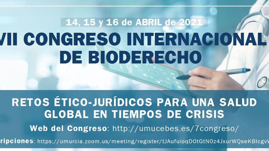 La UMU aborda la pandemia, la gestión de las vacunas y la telemedicina en el VII Congreso Internacional de Bioderecho