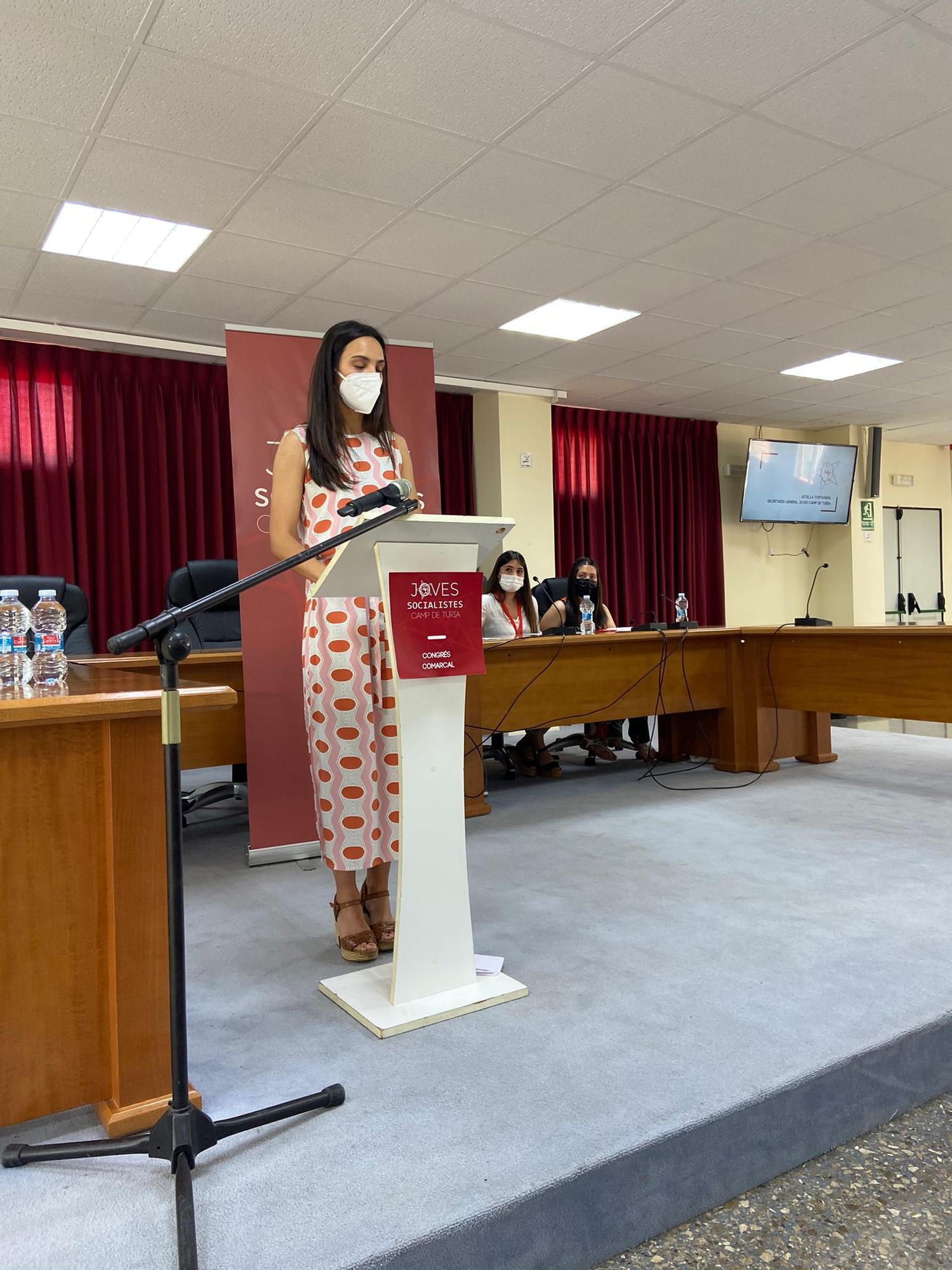 Joves Socialistes de Camp de Túria eligen a Estel·la Tortajada como secretaria general