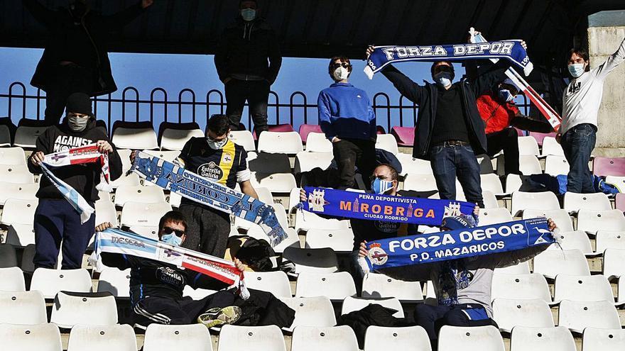 El equipo, acompañado en Salamanca