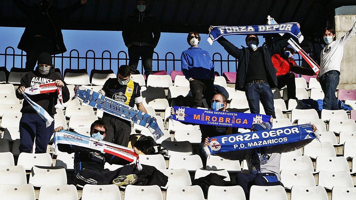 El equipo, acompañado en Salamanca | LOF