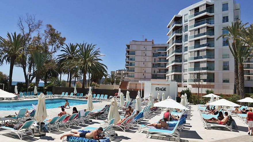 Ibiza cuenta con el 10%  de su planta hotelera abierta