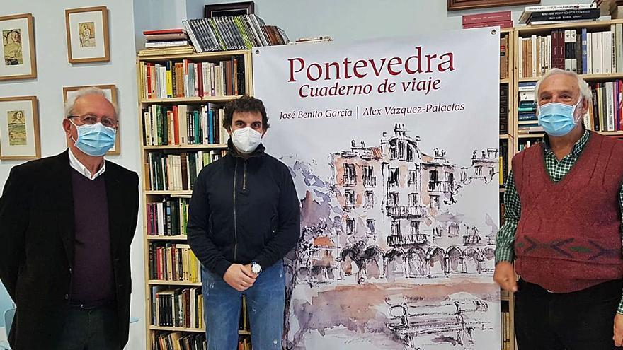 """Presentación del libro """"Pontevedra, cuaderno de viaje"""""""