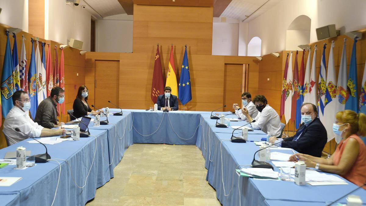 Reunión de la comisión de seguimiento de la covid-19.