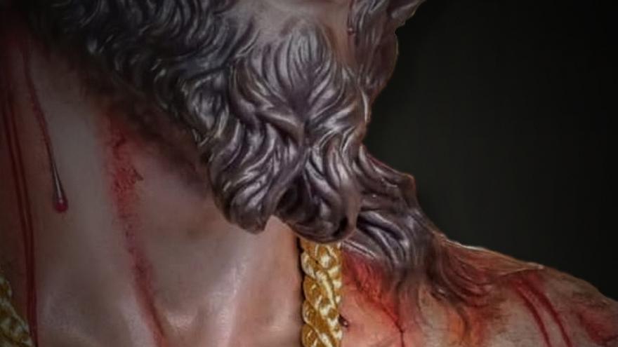 Bendición de la nueva talla de la Semana Santa cacereña