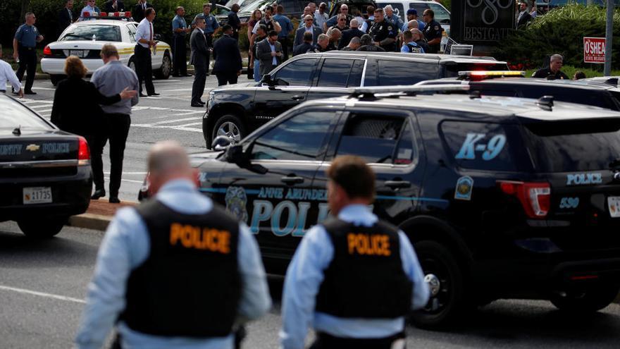 Varios muertos en un tiroteo en un periódico en Maryland