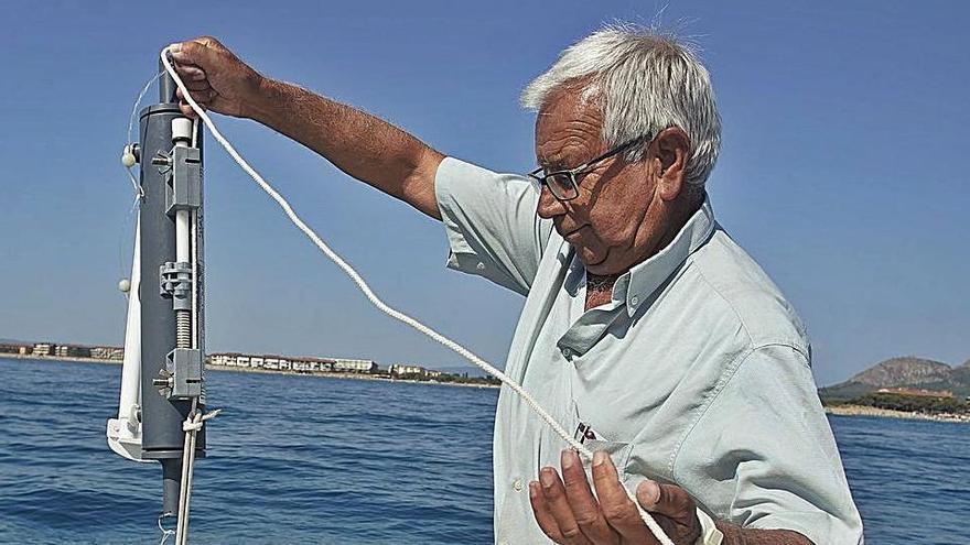El topògraf i el mar