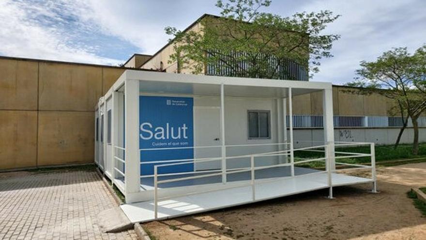 Instal·len cinc mòduls més de suport a l'atenció primària de la regió sanitària de Girona