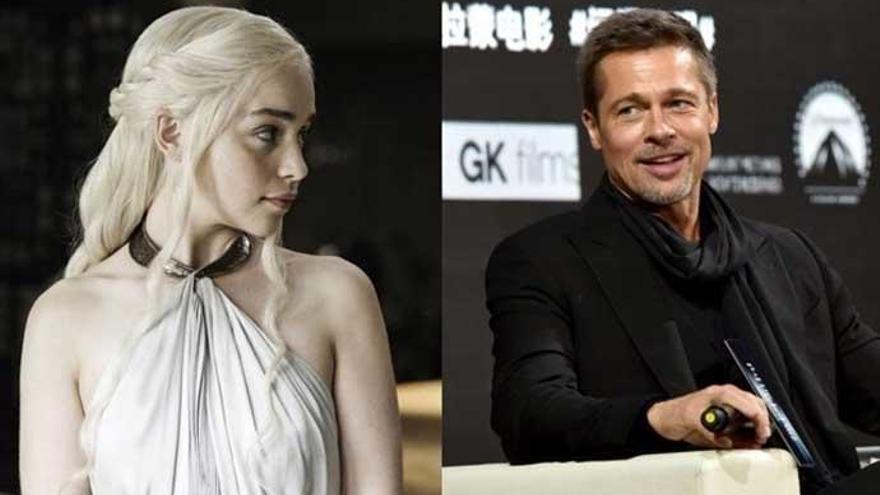Puja benéfica de Brad Pitt para ver 'Juego de Tronos'
