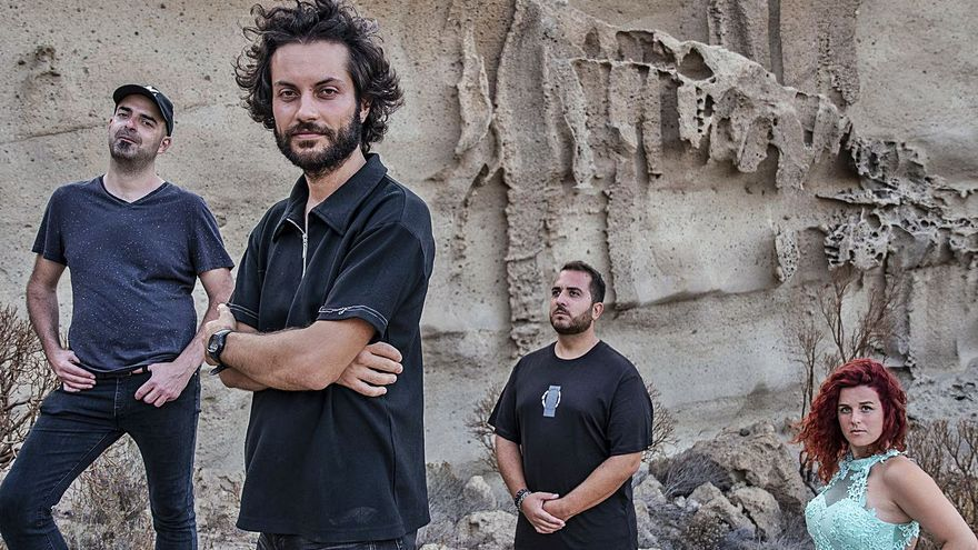 The Sunders se sube al Teatro Leal para presentar los sonidos de su EP 'Gravity'