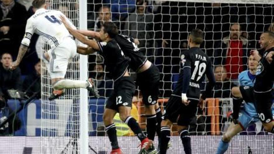 Ramos arregla el lío de Zidane