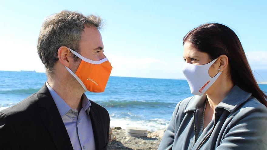 Cs reclama al Gobierno más inversión para regenerar la playa de los Baños del Carmen