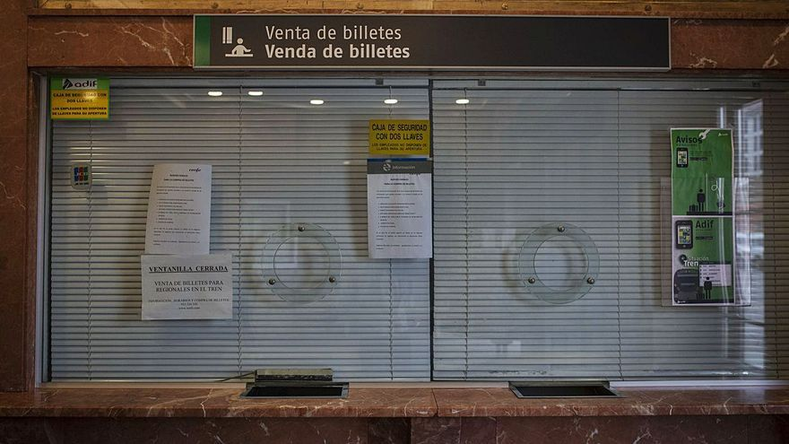 Ourense es la única provincia gallega con solo una estación de tren abierta al público