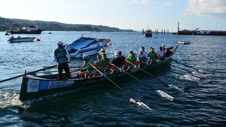 Fiesta del remo de O Morrazo en Euskadi