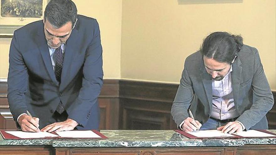 La bolsa entra en pérdidas tras el acuerdo firmado con Iglesias