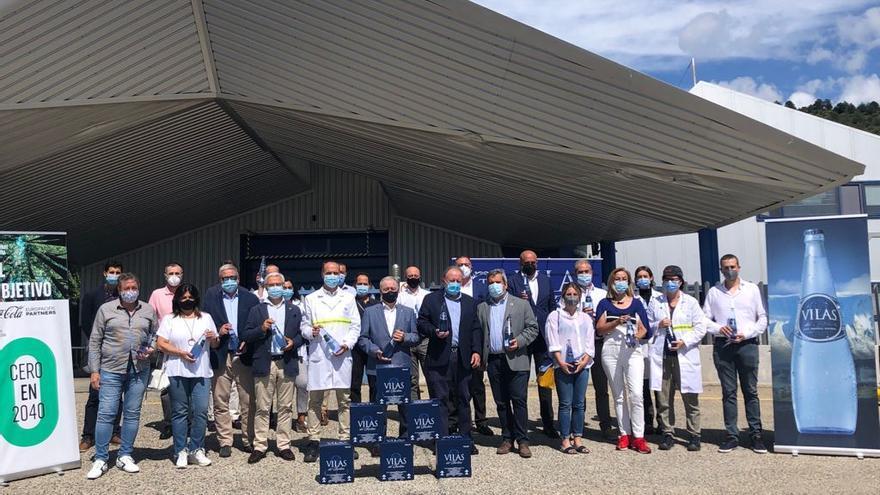 La planta embotelladora de agua de Villas del Turbón, certificada como neutra en emisiones de carbono