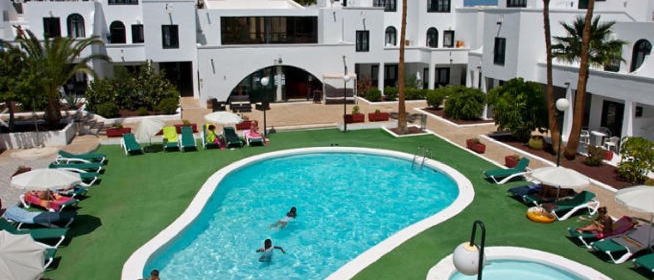 Apartamentos Sol, situados en Costa Teguise.
