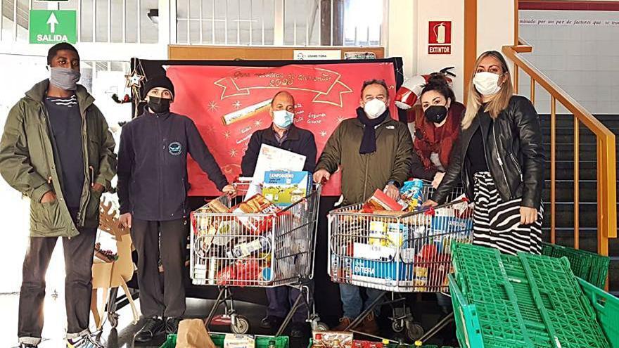 Media tonelada de comida para el Banco de Alimentos