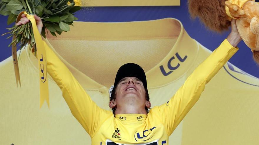 Thomas s'assegura la victòria al Tour de França amb victòria d'etapa per Dumoulin