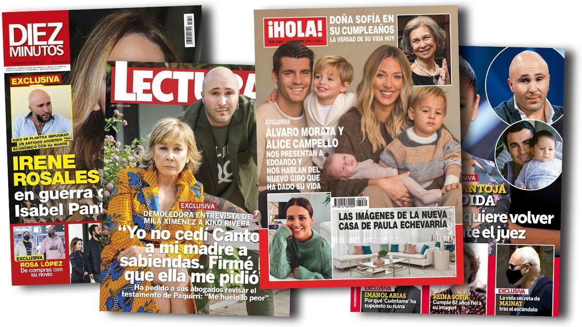 Prensa Rosa: Portadas 04/11/2020