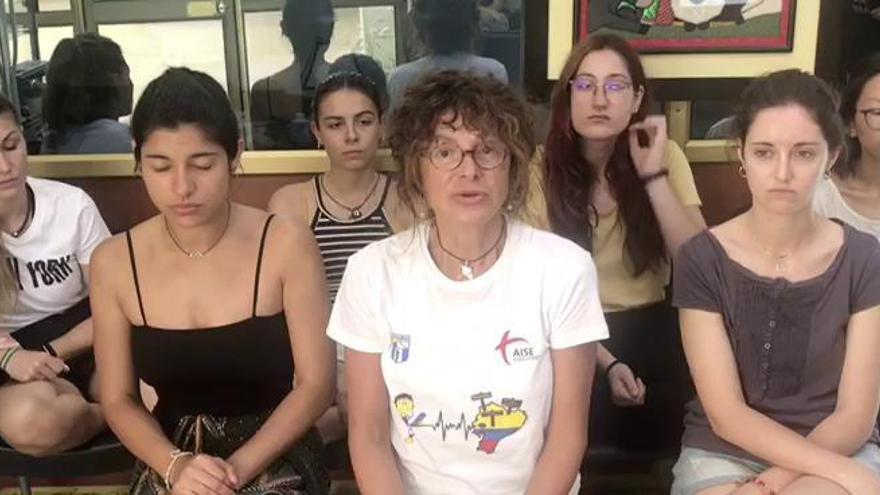 """La zamorana Lucía Torio atrapada en Guayaquil denuncia """"abandono por parte del Gobierno"""" español"""