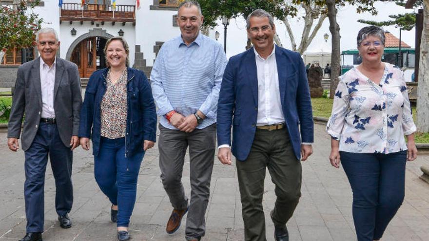 Ciudadanos, clave en Santa Brígida para un gobierno de derecha o izquierda
