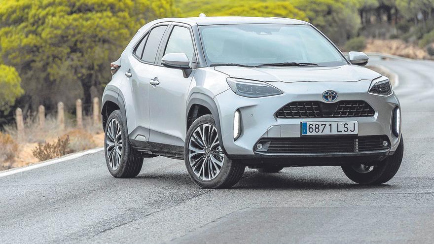 Toyota Yaris Cross, refuerzos crossover