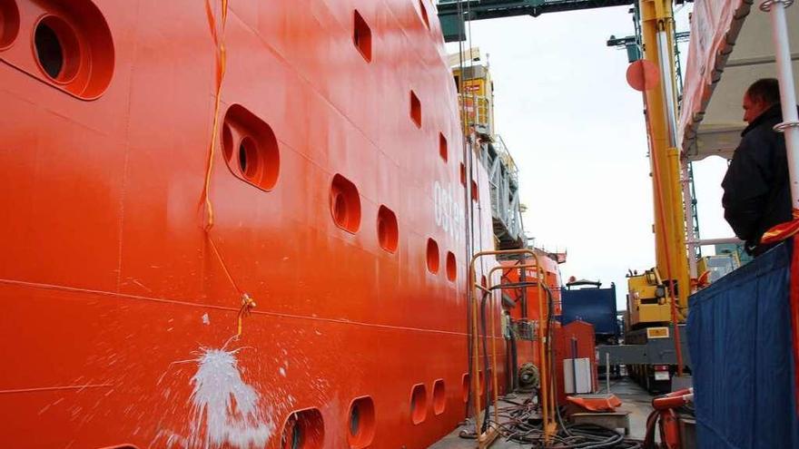 Astilleros Gondán garantiza carga de trabajo para todo el año