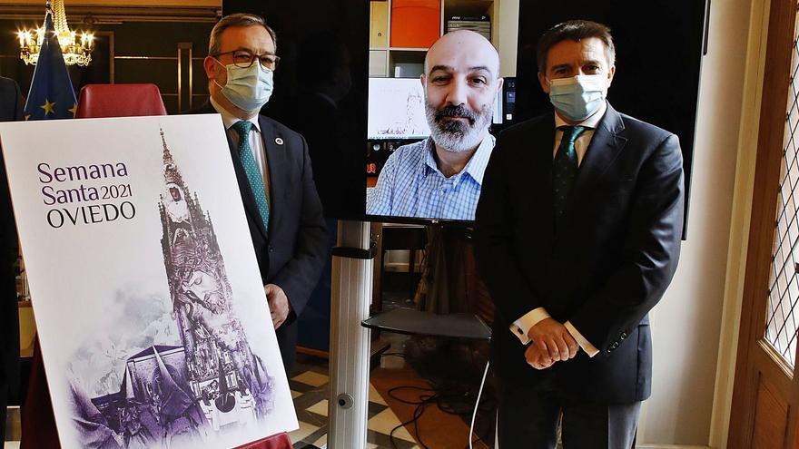 El presidente de las hermandades de Gijón pregonará la Semana Santa ovetense