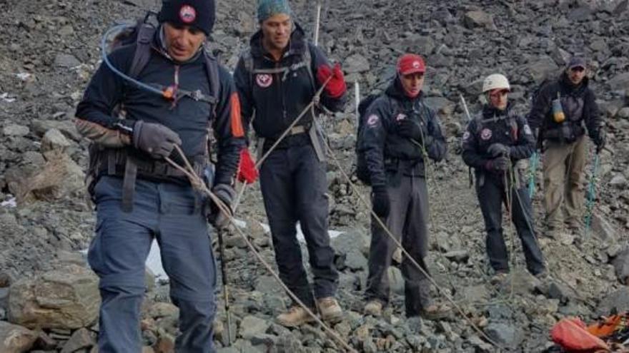 Hallan en los Andes el posible cuerpo de un español desaparecido hace 29 años