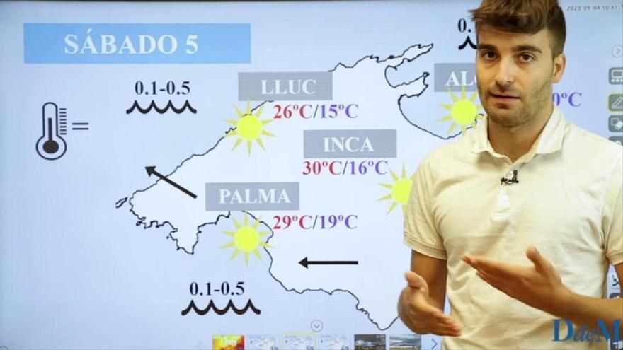 El tiempo del fin de semana en Mallorca: Anticiclón pasajero