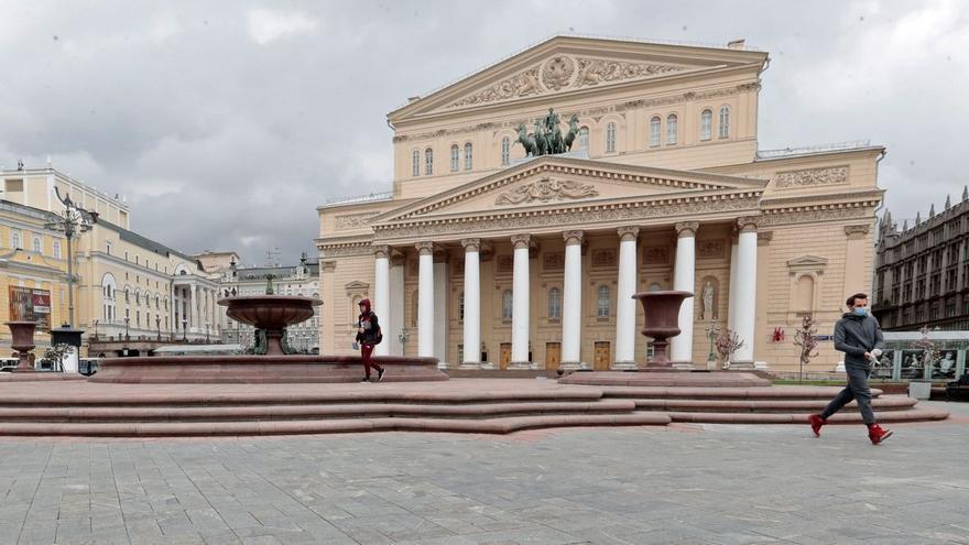 Muere un actor aplastado por una pieza del decorado en el Teatro Bolshoi de Moscú