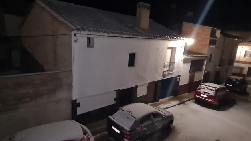 Nieve en Caudete de las Fuentes