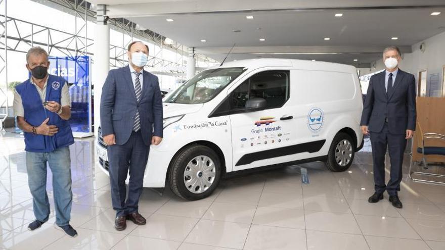 Grupo Montalt y Fundación «la Caixa» donan una furgoneta al  Banco de Alimentos de València