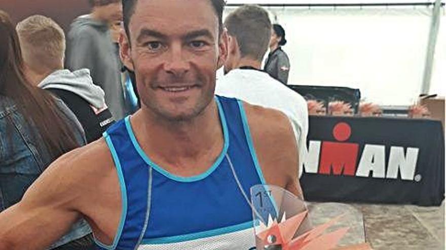 Zamora estará en el Campeonato Mundial de Ironman con Luis Feliz Cepedal