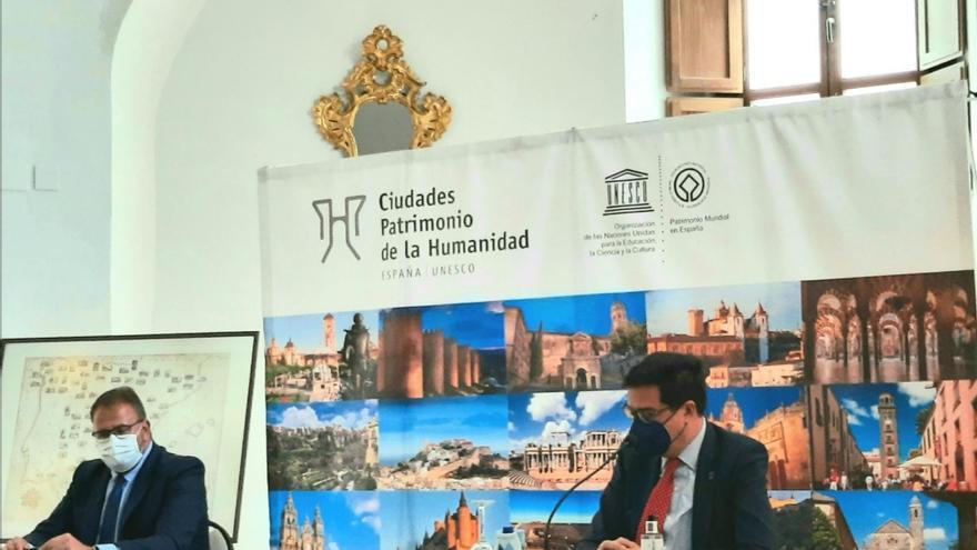 """Las Ciudades Patrimonio y Paradores renuevan su convenio de promoción para ayudar a la """"marca España"""""""