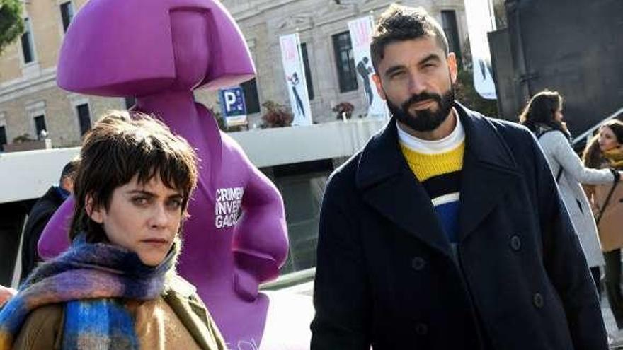 María León y Álex García firman una menina feminista