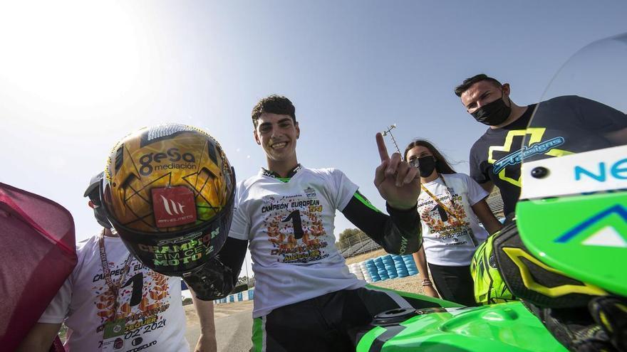 Fermín Aldeguer compartirá garaje con Jorge Navarro