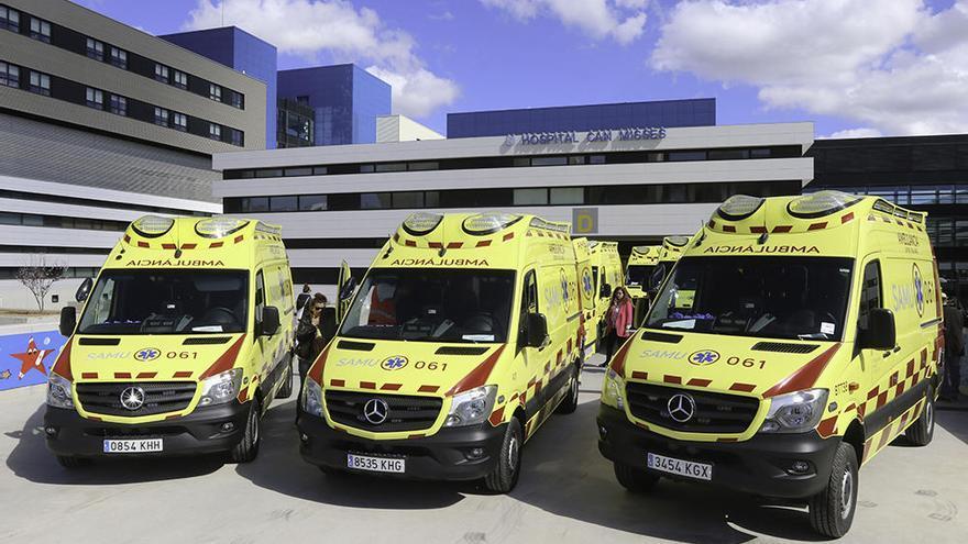 La huelga de ambulancias de Baleares se mantiene al no haber acuerdo entre sindicatos y patronal