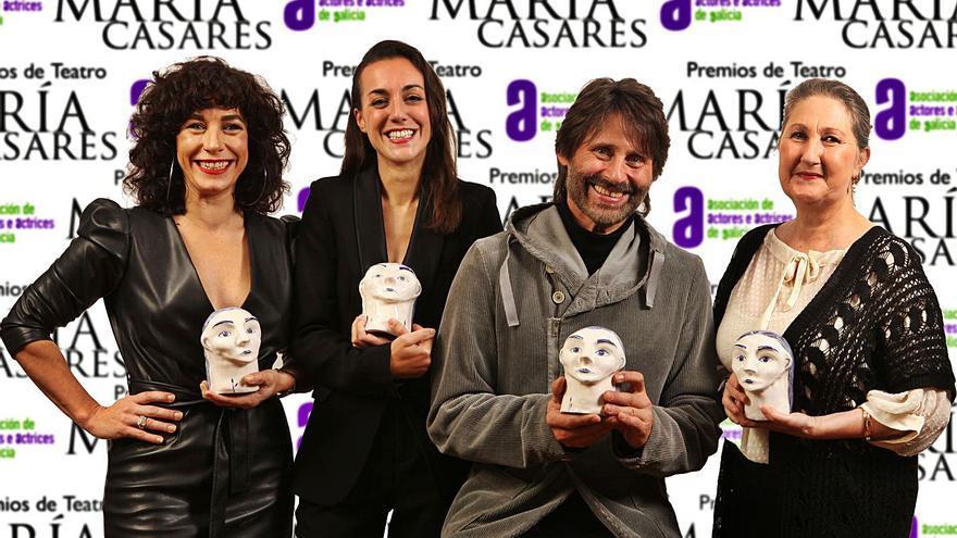 """""""Bernarda"""", de Xoque Carbajal, gran triunfadora de los Premios María Casares con 4 galardones"""