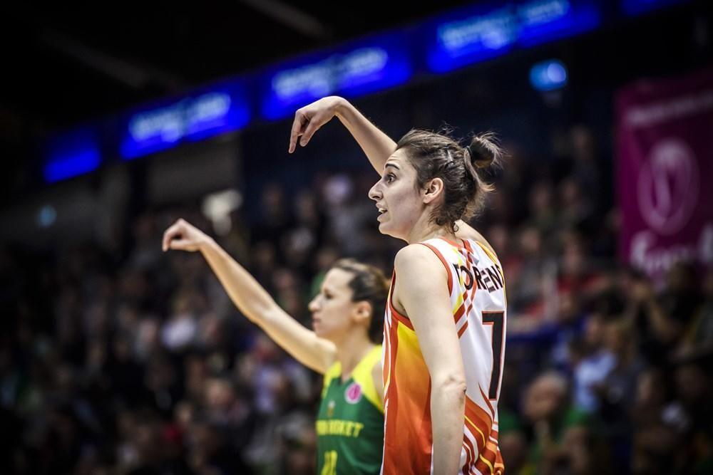 Alba Torrens, en la Final Four de la Euroliga femenina