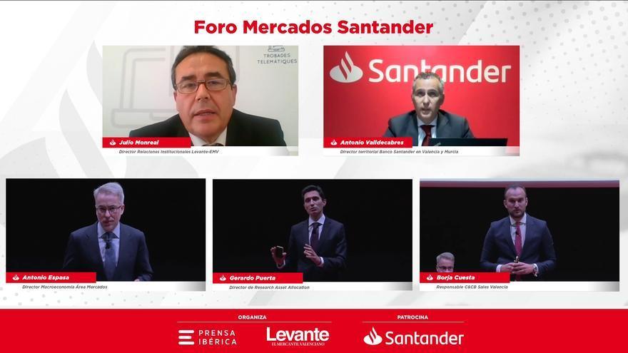 El Foro Mercados Banco Santander analizó las perspectivas a futuro de los mercados