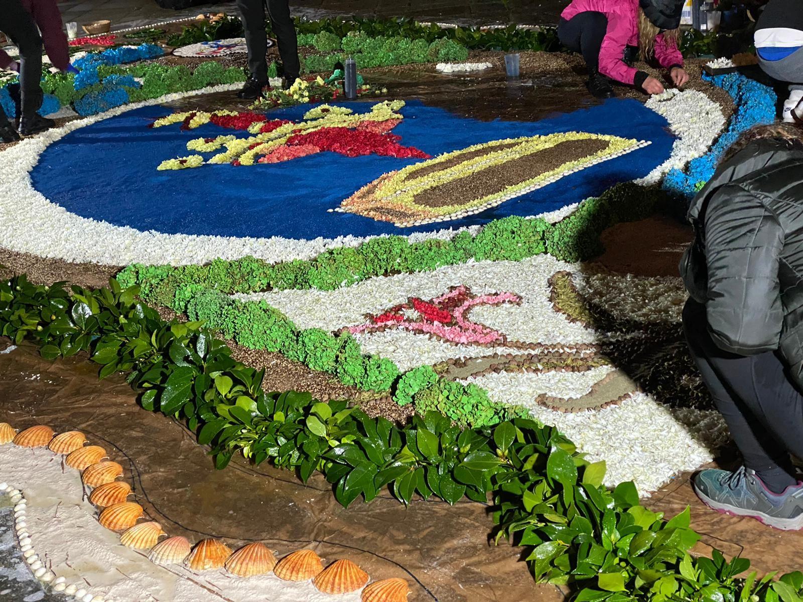 Flores desde O Morrazo para el año Xacobeo